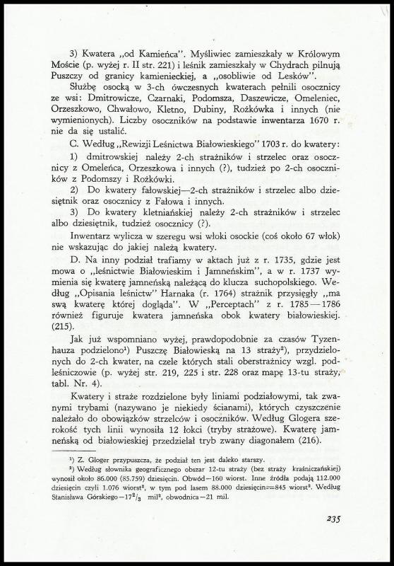 Dzieje Puszczy Białowieskiej w Polsce przedrozbiorowej (1)